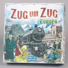Zug um Zug Europa Brettspiel
