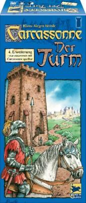 Carcassonne Der Turm 4. Erweiterung - Neuauflage 2016