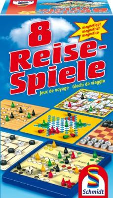 8 Reisespiele magnetisch Schmidt Spiele