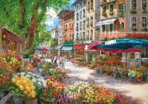 Puzzle Paris Blumenmarkt 1000 Teile Schmidt Spiele B-Ware OVP