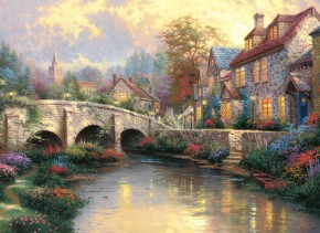Puzzle Bei der alten Brücke 1000 Teile