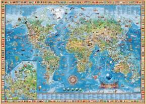 Heye Puzzle Amazing World Weltkarte 3000 Teile B- Ware ungeöffnet