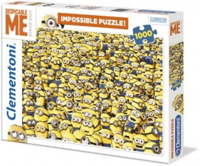 Puzzle Minions Impossible 1000 Teile