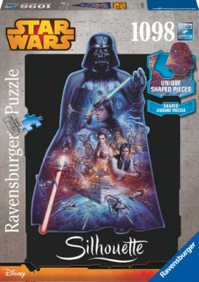 Ravensburger Puzzle Darth Vader Shilhouette 1098 Teile
