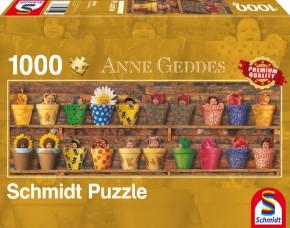 Puzzle Anne Geddes Frühlingserwachen 1000 Teile