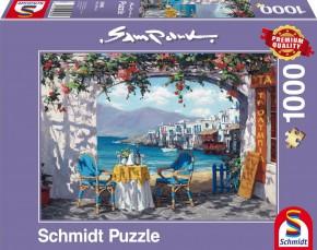 Puzzle Rendez-vous auf Mykonos 1000 Teile