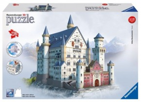Ravensburger Schloss Neuschwanstein 3D-Puzzle B-Ware OVP