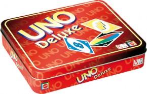 UNO Deluxe Kartenspiel in Geschenkbox