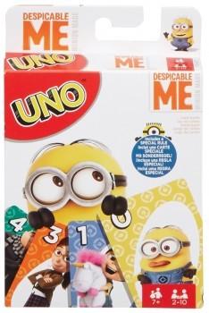 Mattel UNO Minions Ich einfach unverbesserlich 3 Kartenspiel