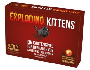 Exploding Kittens Kartenspiel 7+J
