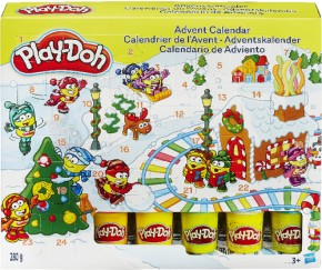 Hasbro Play-Doh Adventskalender inkl. Knetunterlage