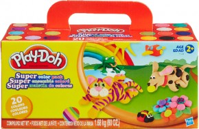 Play Doh Super Farbenset (20er Pack)