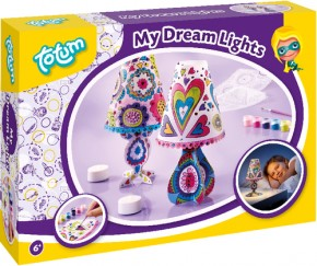 Totum My Dream Lights 2 Nachtlämpchen Bastel-Set B-Ware OVP