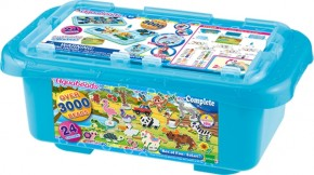 Aquabeads Mega Bastelbox Safari 3.000 St. und 24 Farben