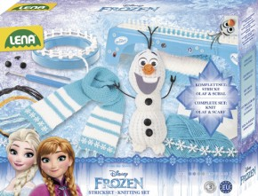Disney Frozen Die Eiskönigin Strickset 2in1