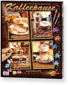 Kaffeepause MnZ 4 Bilder je 18 x 24 cm