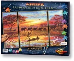 Afrika Zauber eines Kontinents MnZ Triptychon