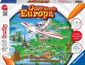 tiptoi® Quer durch Europa Familienspiel