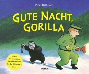 Gute Nacht, Gorilla! Pappbilderbuch 3+j