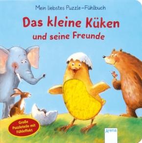 Mein liebstes Puzzle-Fühlbuch Küken und Freunde 2+j