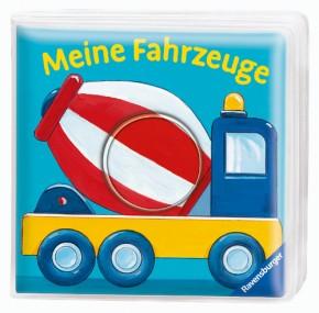 Ravensburger Guckloch-Badebuch: Meine Fahrzeuge 6+m