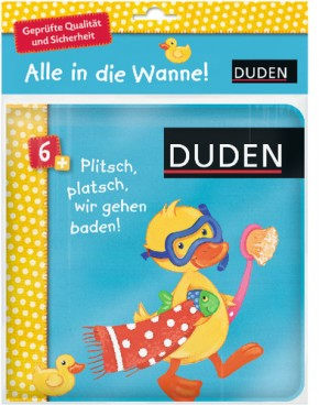 Duden Plitsch platsch Badebuch 6+m