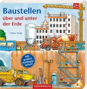 Baustellen über und unter der Erde Bilderbuch ab2J