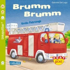 Baby PIXI Brumm Brumm Große Fahrzeuge Bd.23 1+j