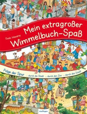 Folge der Spur Wimmelbuch Sammelband 3+j