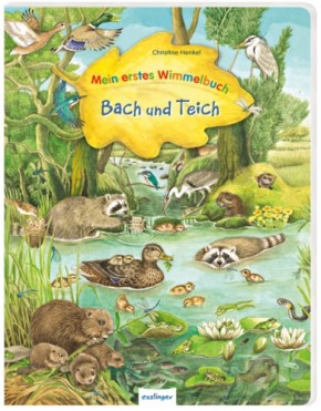 Mein erstes Wimmelbuch Bach und Teich 3+j B-Ware