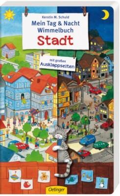 Mein Tag und Nacht Wimmelbuch Stadt 2+j B-Ware