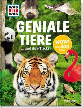 WAS IST WAS Geniale Tiere und ihre Tricks! Tierbuch 8+j