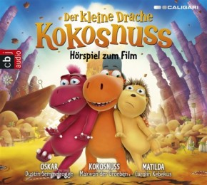 Der kleine Drache Kokosnuss CD Hörspiel zum Film 1CD 5+j