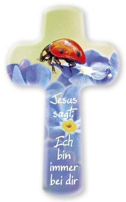 Kinderkreuz Jesus sagt Ich bin immer bei dir