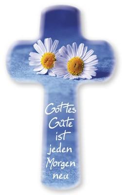 Kinderkreuz Gottes Güte ist jeden Morgen neu