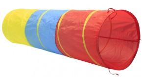 Outdoor active Spieltunnel in 3 Farben Ø 47x180 cm 2+j B-Ware OVP