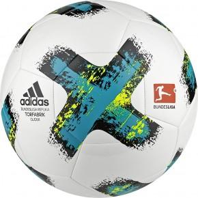 ADIDAS Fußball Torfabrik 2017-2018 Trainingsball Glider Gr.5