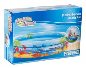 Splash & Fun Planschbecken Beach Fun Ø175cm