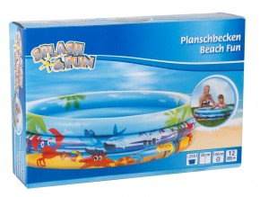 Splash&Fun Planschbecken Beach Fun Ø140cm