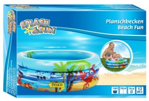 Splash & Fun Babyplanschbecken Beach Fun Ø 70 cm