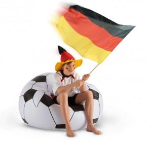 Bestway Fußball-Sessel  zum Aufblasen 114x112x66 cm