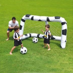 Bestway Fußballtor-Set aufblasbar inkl. 2 Bällen 3+j