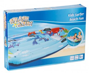 Kindersurfer Beach Fun Luftmatratze+Sichtfenster