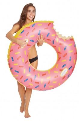 Wehncke Donut XXL-Schwimmring mit 2 Haltegriffen Ø 104cm