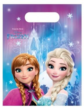 Disney FROZEN Eiskönigin Partytüten 6 Stck