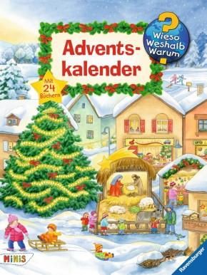 Ravensburger 44388 Adventskalender Wieso?Weshalb?Warum? 2017