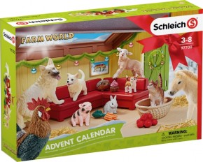 Schleich 97700 Adventskalender Farm World 2018 B-Ware OVP