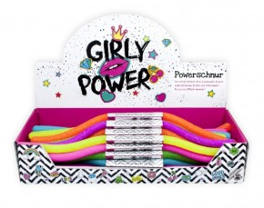 Powerschnur Glitzer Girly Power 30 cm