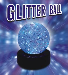 Glitter Ball LED-Lampe mit Farbwechsel