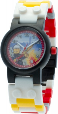 LEGO City Fireman Watch Armbanduhr 8020011